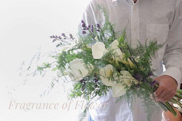 オーダーブーケ ウェディングブーケ 寺本真理 Fragrance of Flower
