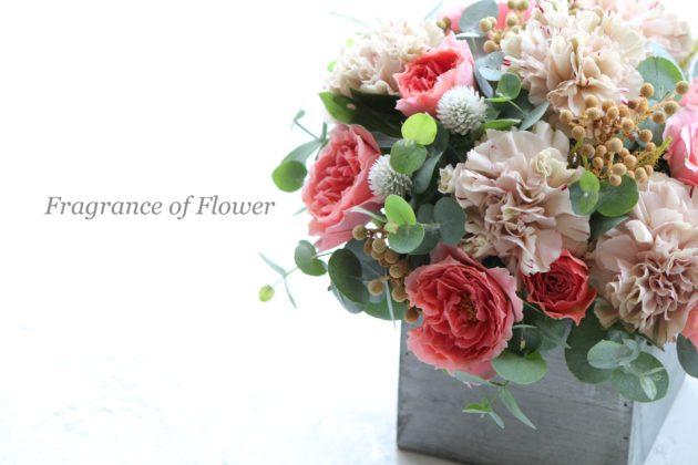 フラワーアレンジメント教室 千葉 鎌ケ谷 柏 松戸 Fragrance of Flower 寺本真理