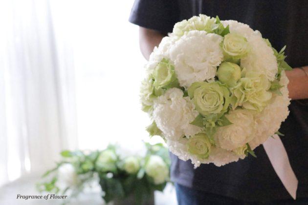 Fragrance of Flower ウェディングブーケレッスン 寺本真理 オーダーウェディングブーケ