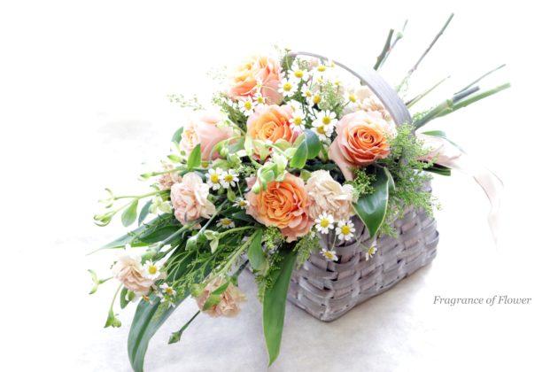 フラワーアレンジメント教室 千葉 鎌ケ谷市 白井 船橋 柏 松戸 寺本真理 Fragrance of Flower