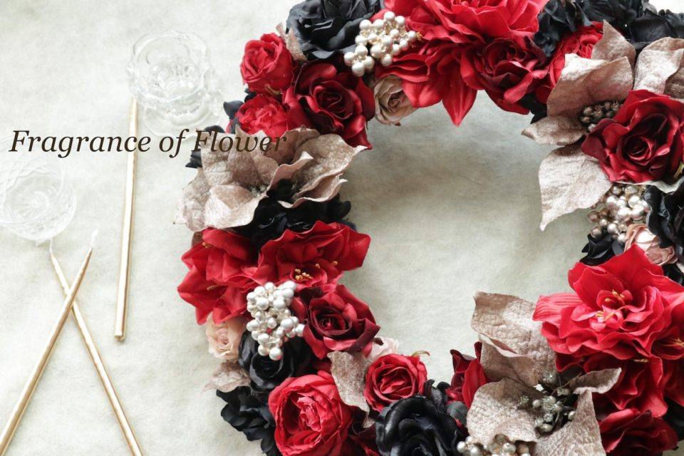オーダーリース 寺本真理 店舗ディスプレイ 会場装花 単発装花 承ります